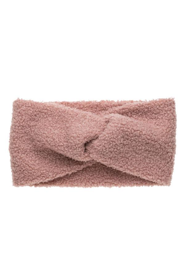 Ροζ Μπουκλέ Κορδέλα Μαλλιών Τουρμπάνι