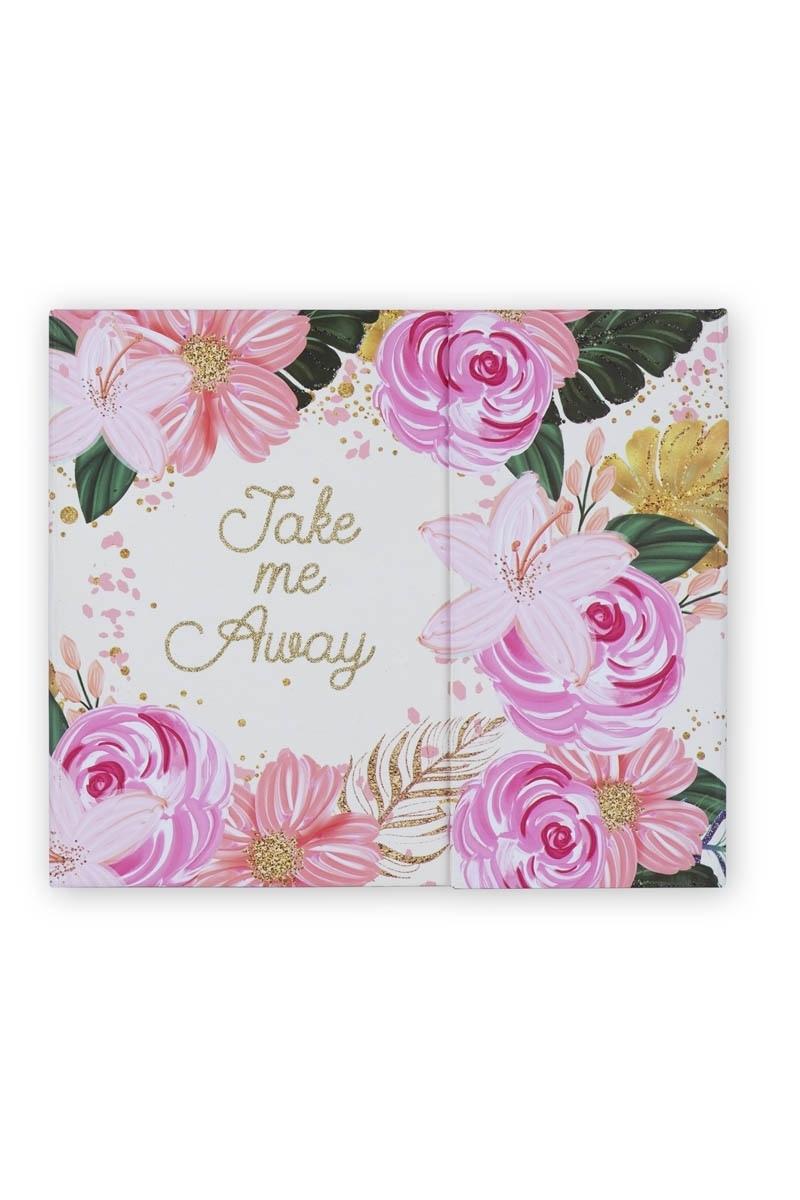 Εβδομαδιαίο Planner Magnetic Glitter Floral Tri-Coastal Design