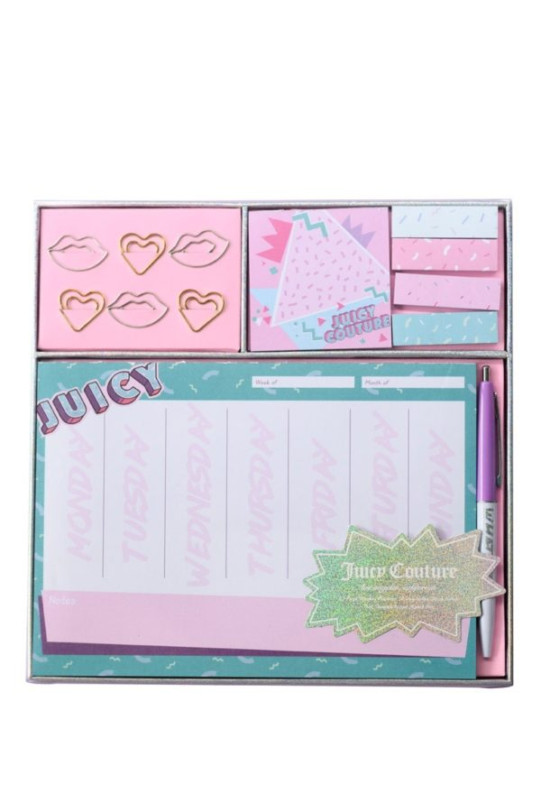 Set Εβδομαδιαίο Planner & Memo Stickers Tri-Coastal Design