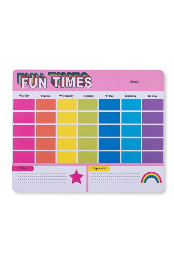 Fun Times Weekly Planner Γραφείου Magnetic 50φ. Tri-Coastal Design