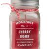 Αρωματικό Κερί Cherry Bomb σε Γυάλινο Βάζο 400 ml