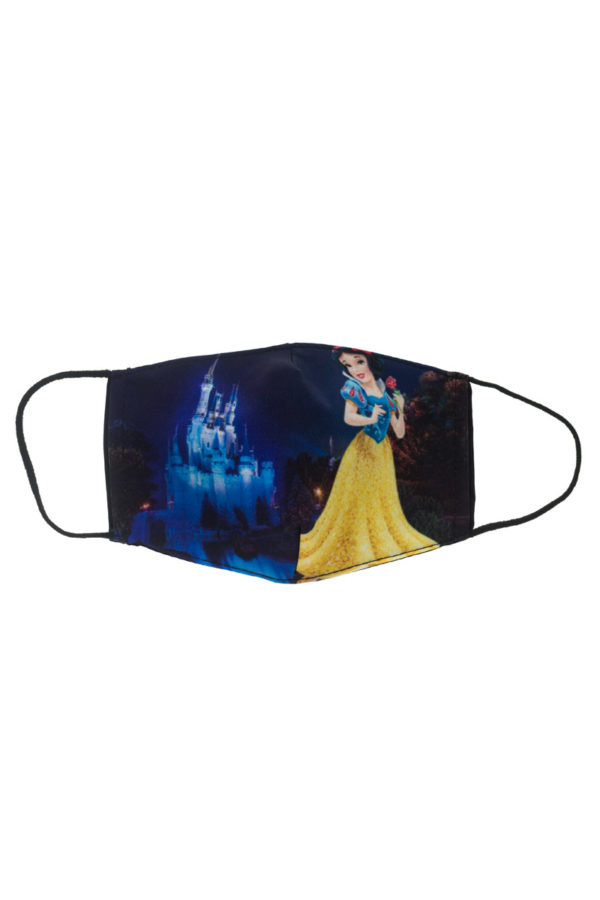Χιονάτη με Κάστρο Παιδική Υφασμάτινη Μάσκα Επαναχρησιμοποιούμενη
