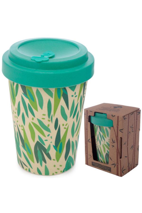 Ποτήρι Καφέ Φύλλα Ευκάλυπτου Bamboo Coffee Cup