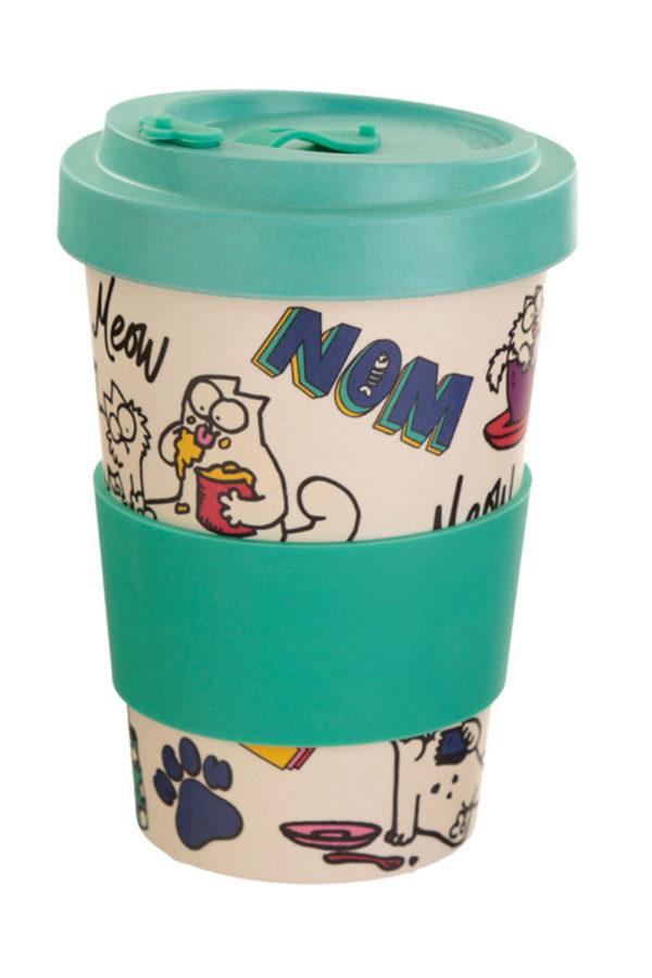 Ποτήρι Καφέ Simon's Cat Pawsome Bamboo Coffee Cup