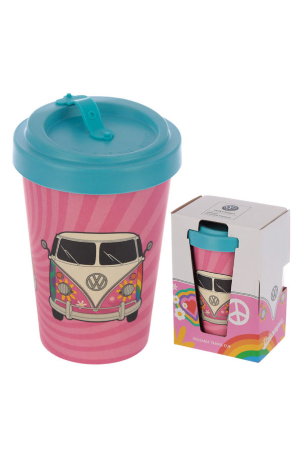 Ποτήρι Καφέ Camper Bus Summer Love Bamboo Coffee Cup
