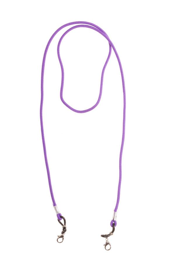 Μοβ Ελαστικό Κορδόνι Μάσκας Προσώπου & Γυαλιών