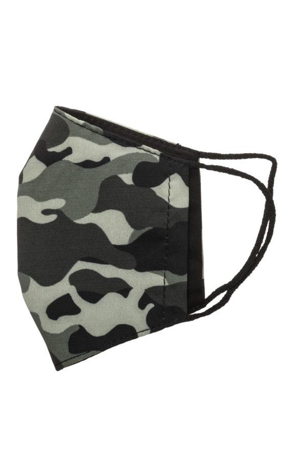 Στρατιωτική Παιδική Υφασμάτινη Μάσκα Προστασίας Επαναχρησιμοποιούμενη
