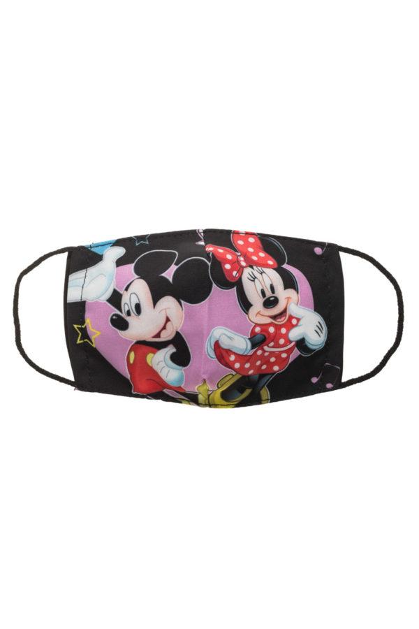 Μίκυ & Μίνι Παιδική Υφασμάτινη Μάσκα Προστασίας Επαναχρησιμοποιούμενη