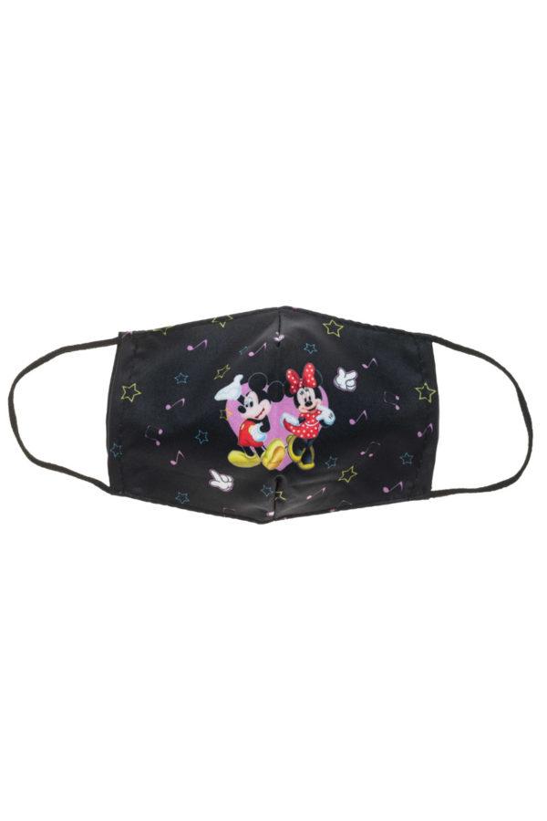 Μίκυ & Μίνι Αστέρια Παιδική Υφασμάτινη Μάσκα Προστασίας Επαναχρησιμοποιούμενη
