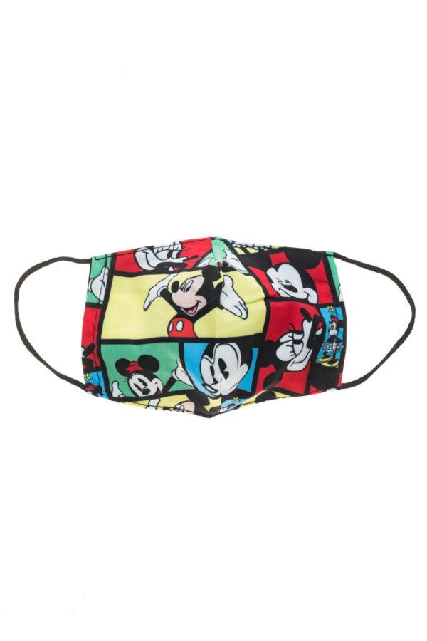 Μίκυ Multi Vintage Παιδική Υφασμάτινη Μάσκα Προστασίας Επαναχρησιμοποιούμενη