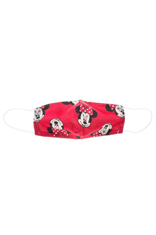Κόκκινη Μίνι Heads Παιδική Υφασμάτινη Μάσκα Προστασίας Επαναχρησιμοποιούμενη