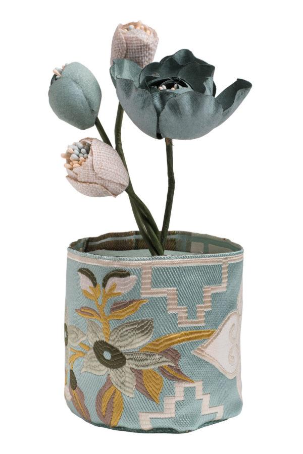 Mint Γλάστρα με Λουλούδια Αρωματικό Χώρου Bamboo Charcoal