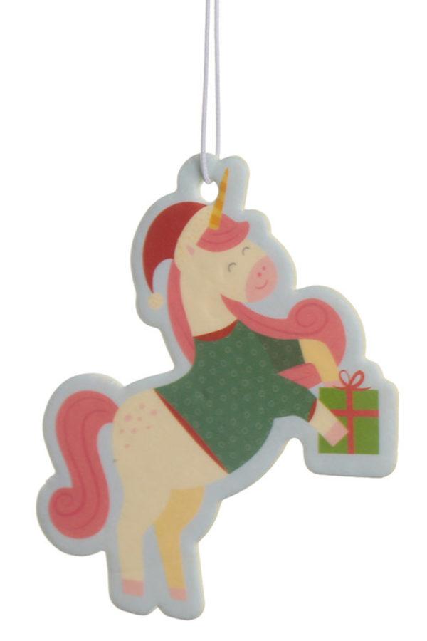 Γιορτινό Αρωματικό Αυτοκινήτου & Χώρου Μονόκερος Christmas Cookie