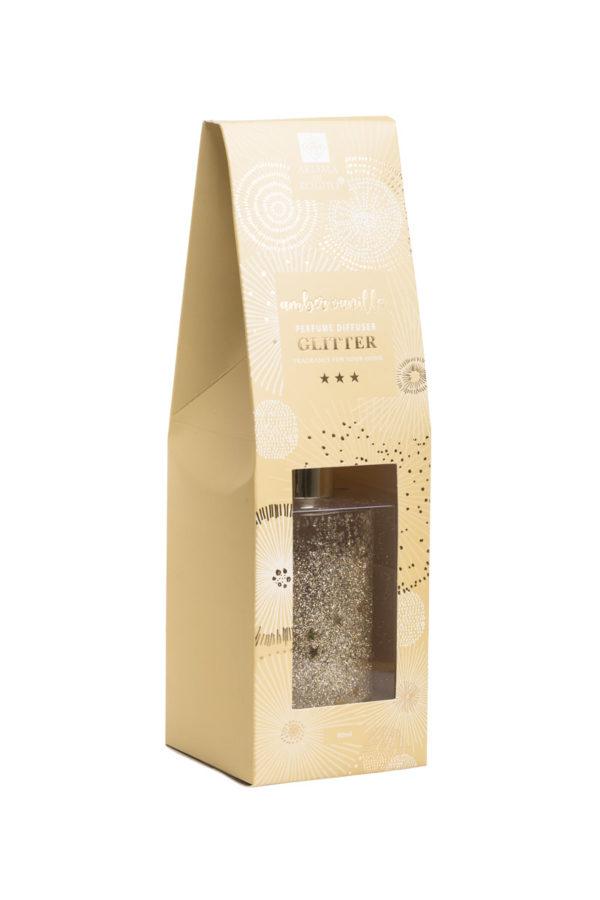 Αρωματικό Χώρου Diffuser Glitter Amber Vanilla 80ml