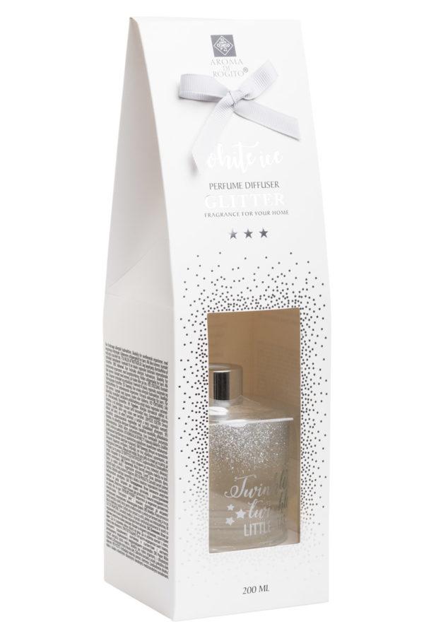 Αρωματικό Χώρου Diffuser Glitter White Ice 200ml