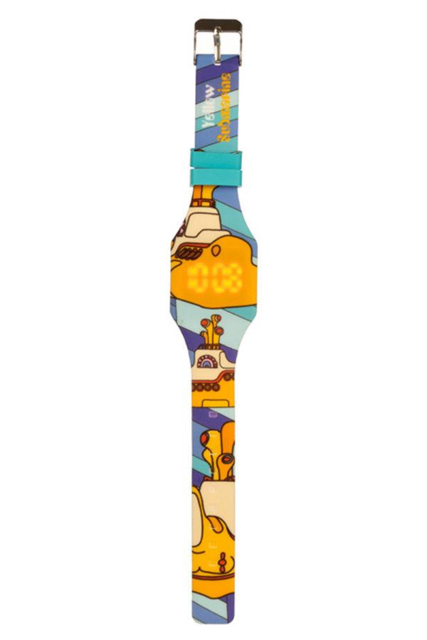 Ψηφιακό Ρολόι Χειρός Σιλικόνης Yellow Submarine 02